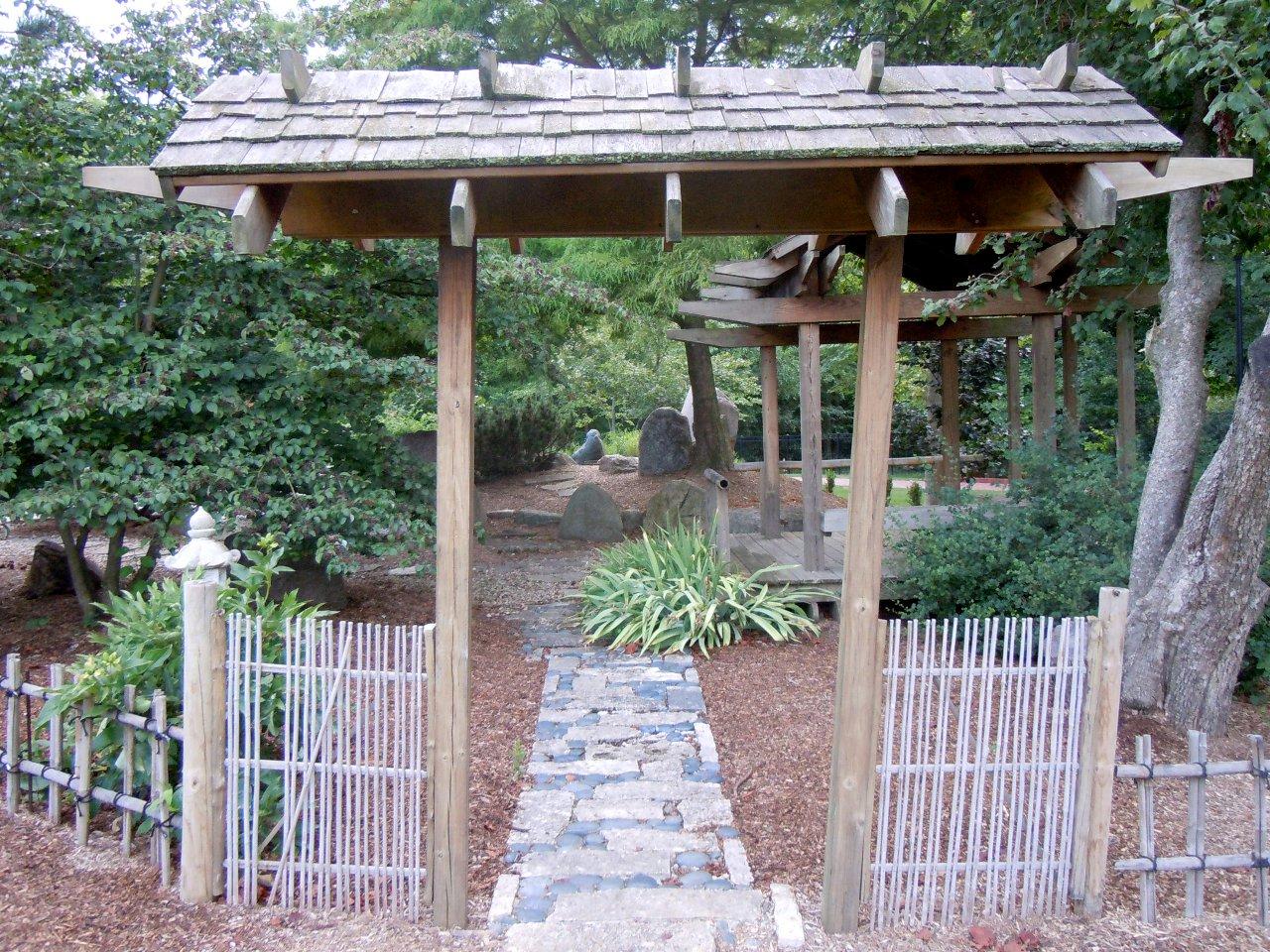 Gallery for Japanese garden entrance